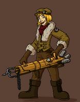 Steampunk Explorer by Morgoth883