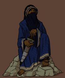 Desert Wanderer by Morgoth883