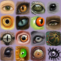 eyes and eyes and eyes and.... by Trutze