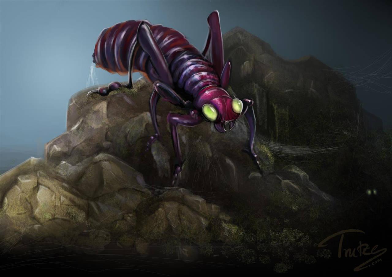 sketchy bug by Trutze