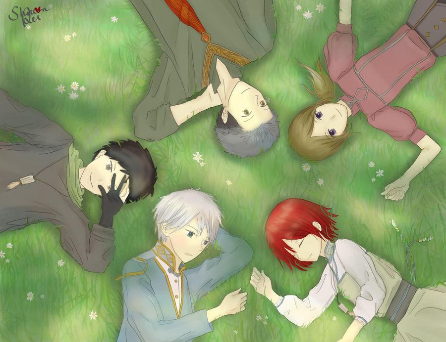 Akagami no Shirayukihime group picture by Shou-rei-on