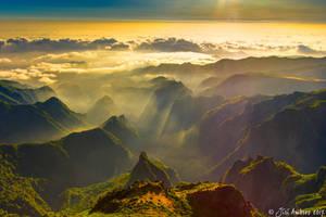 Where mountains meet the ocean by Sigfodr