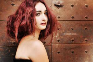 Audrey's portrait by AnarkiARockPhoto