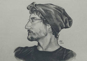 Tyler Profile Sketch by RamNieto