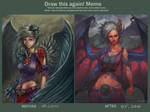 Dragon Girl - Draw this again by GetsugaDante