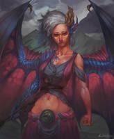 Dragon Girl V2 by GetsugaDante