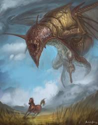 Snail dragon by GetsugaDante