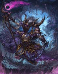 Warhammer Fantasy - Tzeentch sorcerer 2# by GetsugaDante