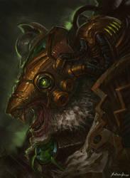 Warhammer Fantasy - Ikit Claw by GetsugaDante