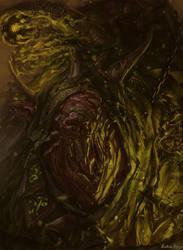 Warhammer Fantasy - Lord Skrolk by GetsugaDante
