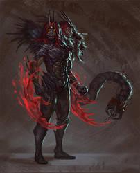 Commission - Azazus by GetsugaDante