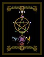 Ace of Pentacles Tarot Card by StephanieSmall