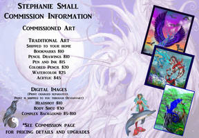 Stephanie Small DA Artist Commission Profile OPEN by StephanieSmall
