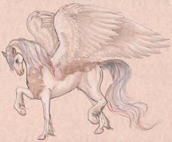 Ismalabo Malitlo Male Pegasus Nightwolf God by StephanieSmall
