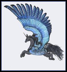 Dark Stellarcrest Pegasus Mare by StephanieSmall