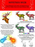 Sotetseg Deer Breed Sheet by StephanieSmall