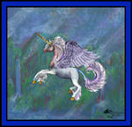 Victor Unicorn Horse Pony Pegasus Wings Winged by StephanieSmall