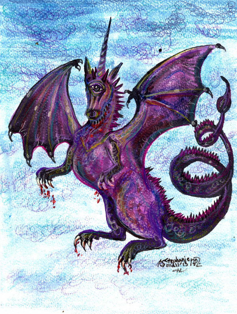 One Eyed One Horned Flying Purple People Eater by StephanieSmall