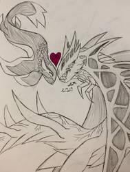 happy valentines inked by LeviathanComics
