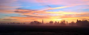 Countryside Sun Rise by Adam-F