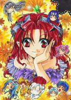 Time Stranger Kyoko - Friends by m-u-ll-e