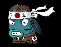 Kamikaze Fishy by Mamamia64