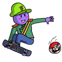 FD Skate Boarding by Mamamia64