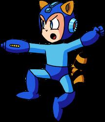 Tanooki Mega Man by Mamamia64