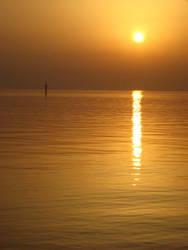 Sunset Manama by jerahmeel2002