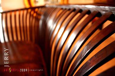 Wood Sofa by jerahmeel2002