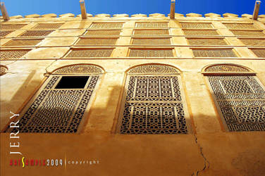 Arabic Exterior Old House by jerahmeel2002
