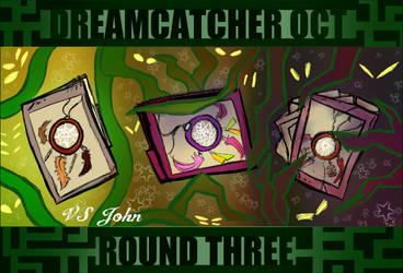 DreamCatcherOCT: Round Three: Cover by MelCairoRose