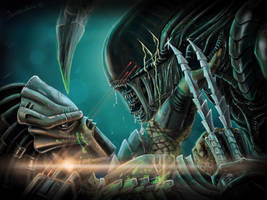 Alien VS Predator by javilingt
