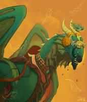 Swamp Guardian by Jekal