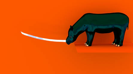 Silicon-based Rhino by Children-Of-TheNight