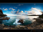 Purakanui Bay by mark-flammable