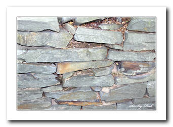 Stone Wall Art A (2) by SirIvyPink