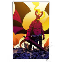 Apocalypse Hellboy In Color by Stephen-Green