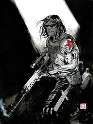 Winter Soldier by Stephen-Green