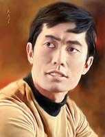 Lieutenant Hikaru Sulu by karracaz