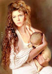 Mother and Child by karracaz