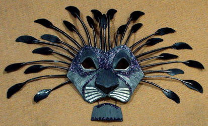 Lion Mask by Noweia