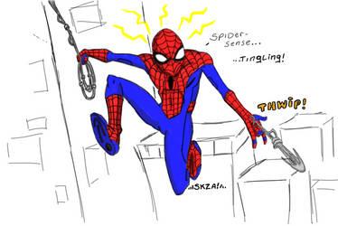 Amazing Spider-Man, man by sketchsanchez