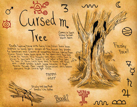 Cross's Journal: Cursed Tree by demongirl99