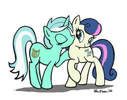 Lyra BonBon smack by YewDee