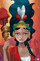 Madre Patria Peruana by moqui76