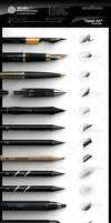 Photoshop Professional Brush Pack vol.4 - Classic by xgfxws