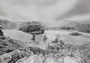 Haweswater  Pencil by danUK86