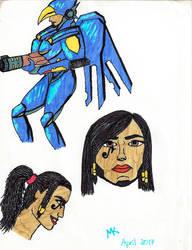 OW study: Pharah by Maria-Korneliou