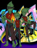 Ice Crew profile fiction by QueenSolaris